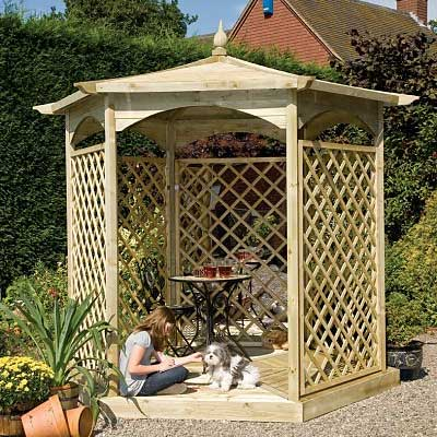 Picture of Grange Budleigh Gazebo: Option C