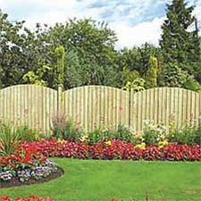 Picture of Grange Dome Feather Edge Fence Panel