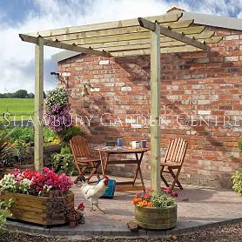 Picture of Grange Traditional Patio Pergola