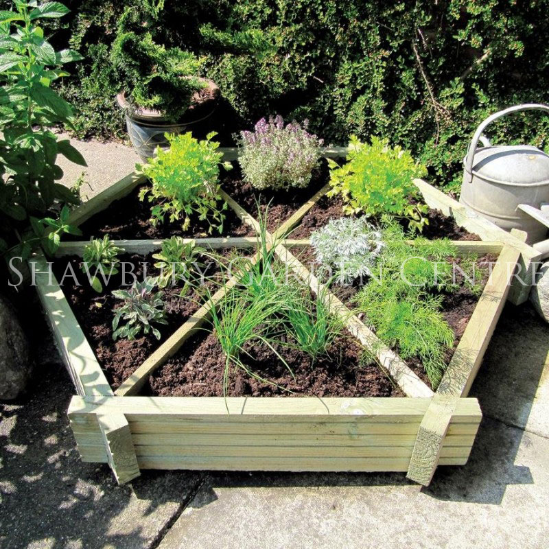 Picture of Grange Herb Wheel Planter
