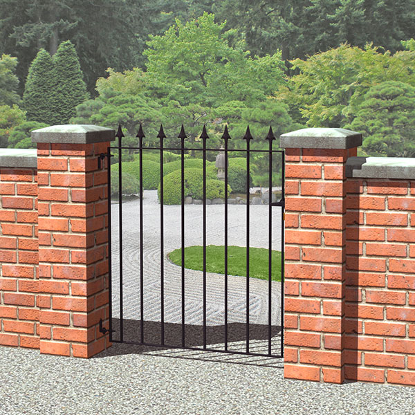 Grange Montford Spear Top Metal Garden Gates