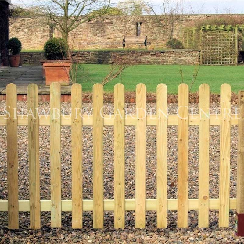 Picture of Grange Round Top Palisade Fence Panel