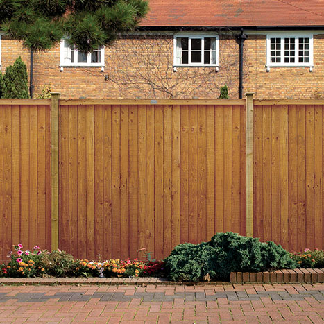 Picture of Grange Closeboard Fence Panel
