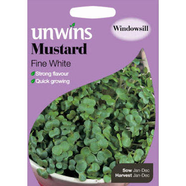 Picture of Unwins 'Fine White' Mustard Seeds