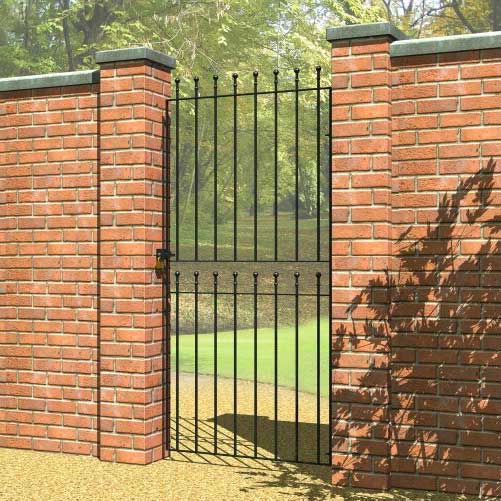 Picture of Grange Wenlock 'Ball Top' Tall Gate: Narrow
