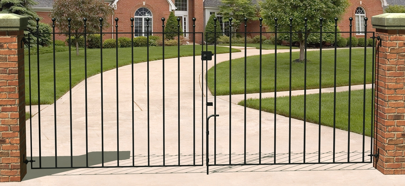 Picture of Grange Set of Wenlock 'Ball Top' Double Gates 2700-2780