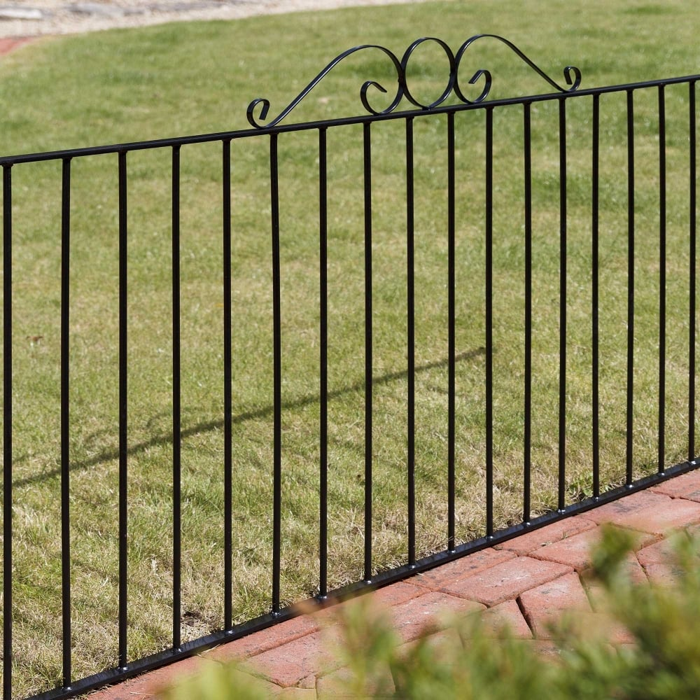 Picture of Grange Ironbridge Metal Railings Fence Panel