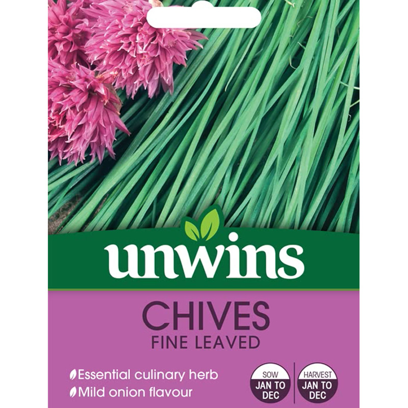 Picture of Unwins CHIVES Fine Leaved Seeds