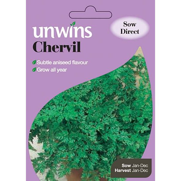Picture of Unwins Chervil Seeds