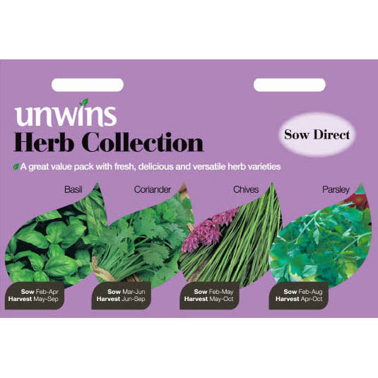 Picture of Unwins Herb Collection Pack of Seeds