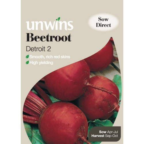 Picture of Unwins 'Detroit 2' Beetroot Seed
