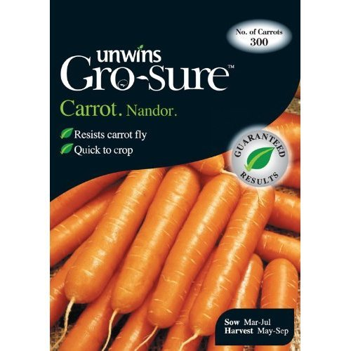 Picture of Unwins Gro-sure® 'Nandor' Carrot Seeds