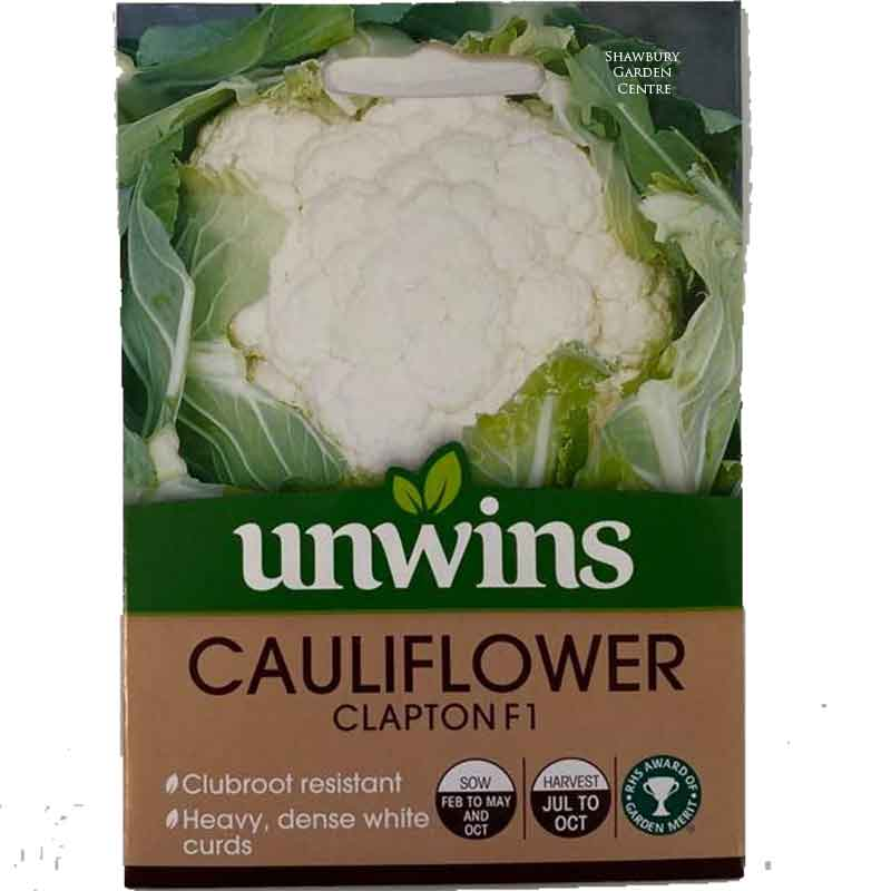 Picture of Unwins Gro-sure® 'Clapton' Cauliflower Seeds
