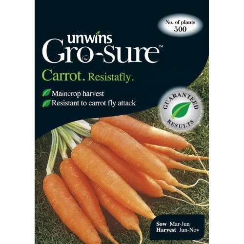 Picture of Unwins Gro-sure® 'Resistafly' Carrot Seeds