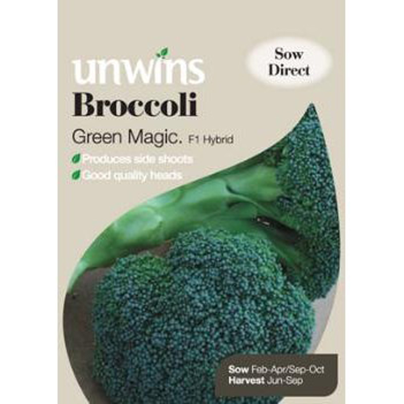 Picture of Unwins BROCCOLI Green Magic F1 Seeds