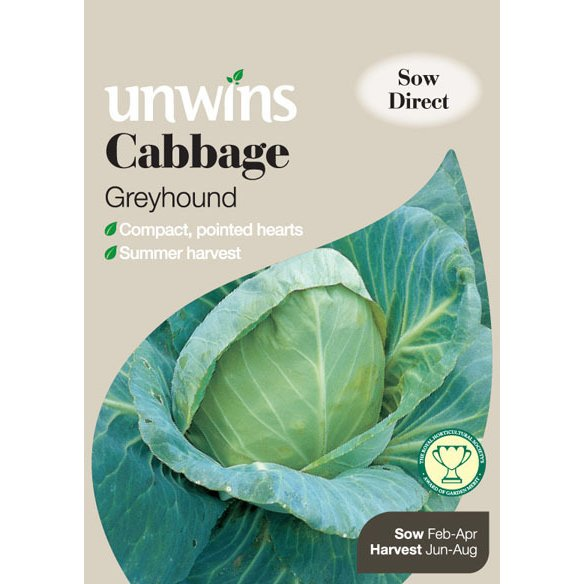 Picture of Unwins 'Greyhound' Cabbage Seeds