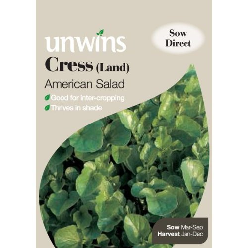 Picture of Unwins 'American Salad' Land Cress Seeds