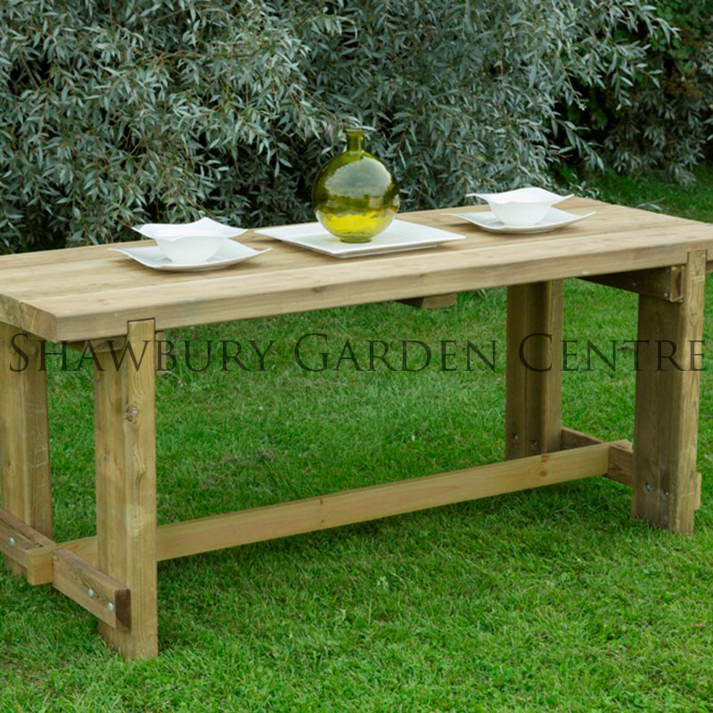 Picture of Forest Garden Refectory Table: 1.8m