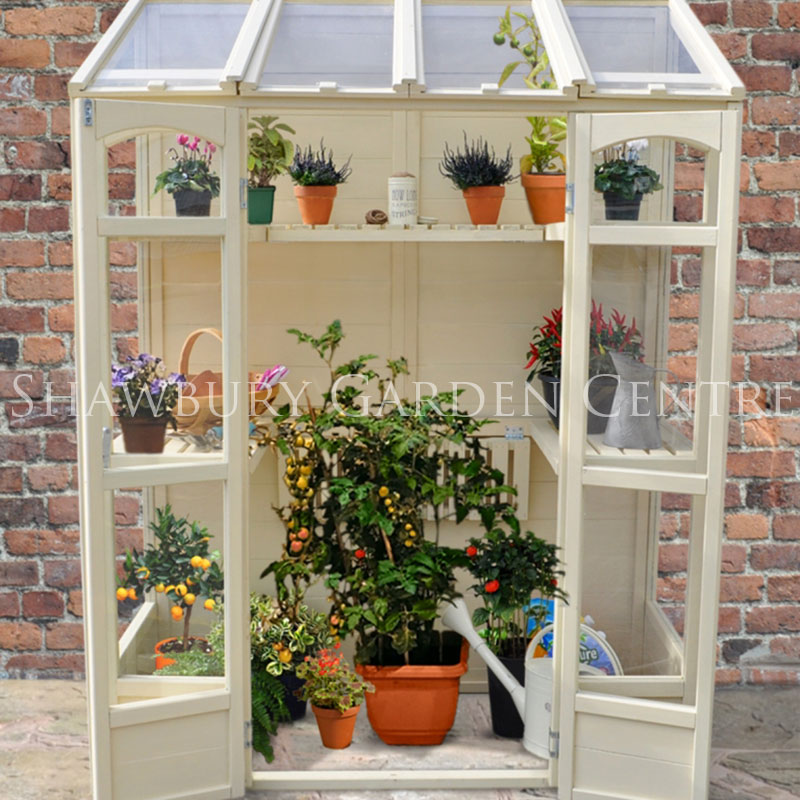 Picture of Forest Garden Victorian Tall Wall Greenhouse