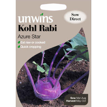 Picture of Unwins KOHL RABI Azure Star Seeds