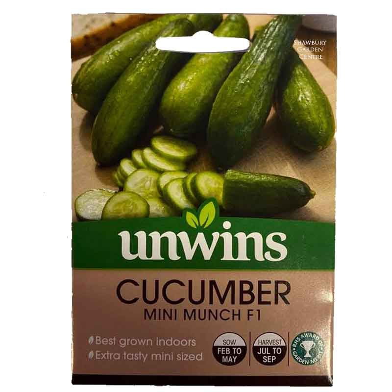 Picture of Unwins Gro-sure® 'Mini Munch' Cucumber Seeds