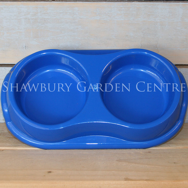 Picture of Whitefurze Double Pet Bowl