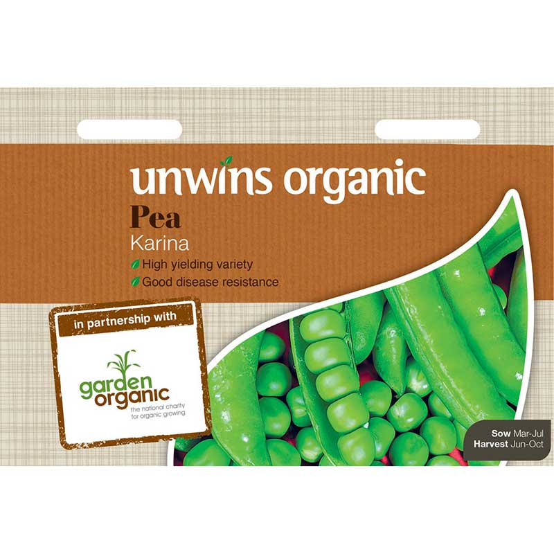 Picture of Unwins Organic Karina Pea Seeds