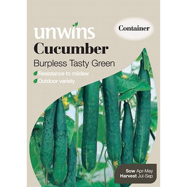 Picture of Unwins 'Burpless Tasty Green' Cucumber Seeds