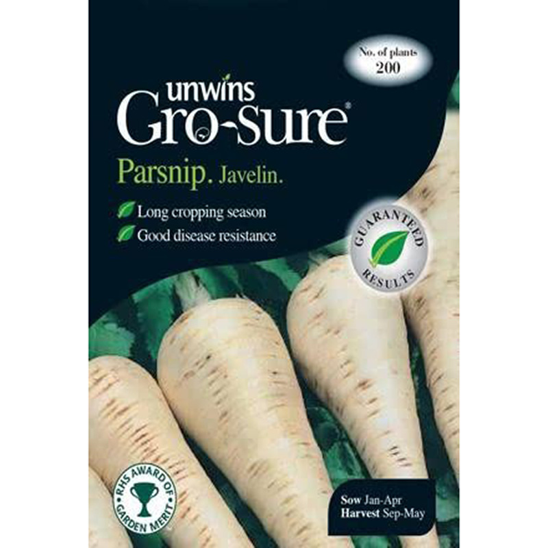 Picture of Unwins 'Javelin' Parsnip Seeds
