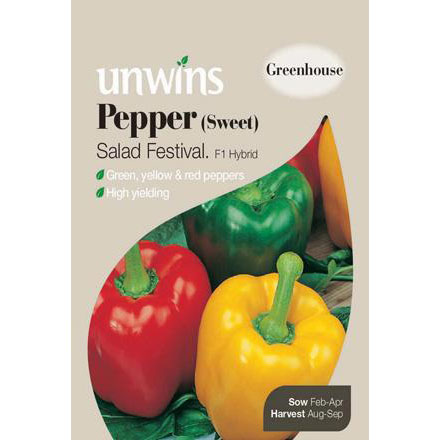 Picture of Unwins Salad Festival Pepper Seeds