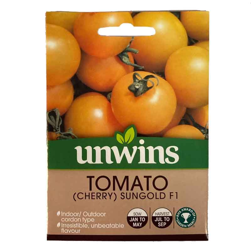 Picture of Unwins 'Sungold' Tomato Seeds