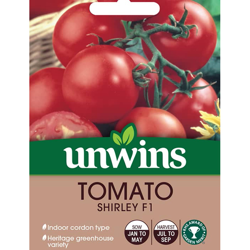 Picture of Unwins 'Shirley' Tomato Seeds