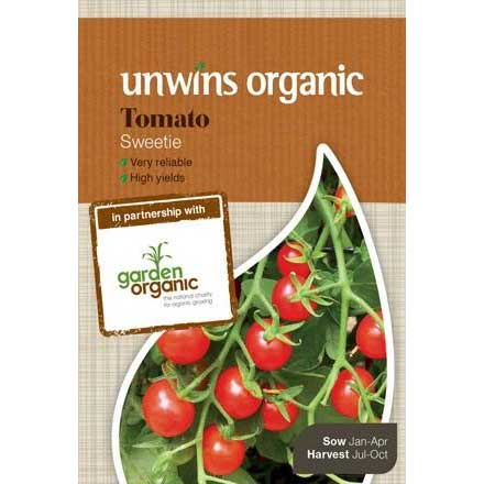 Picture of Unwins Organic 'Sweetie' Tomato Seeds