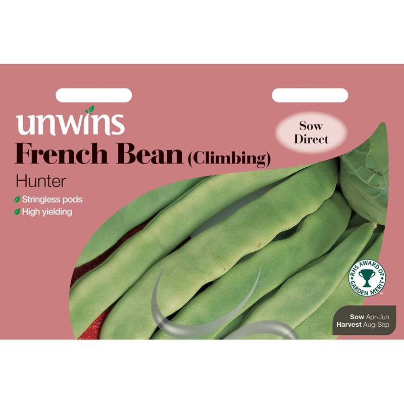 Picture of Unwins 'Hunter' Climbing French Bean Seeds