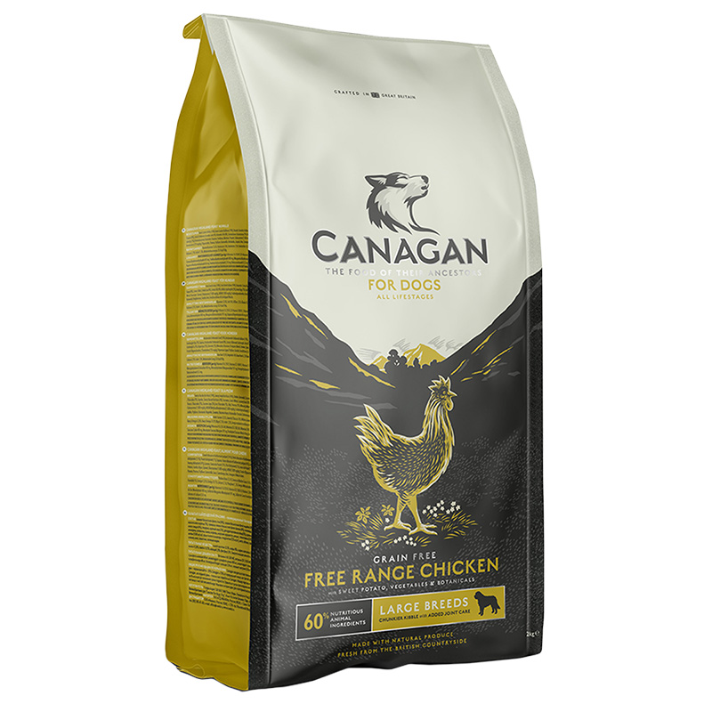 Picture of Canagan Free-Run Chicken Grain-Free Large Breed Dog Food