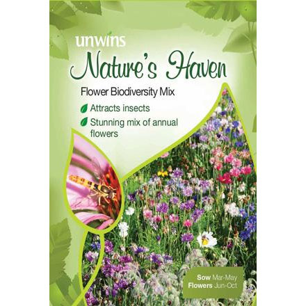 Picture of Unwins Nature's Haven Flower Biodiversity Mix
