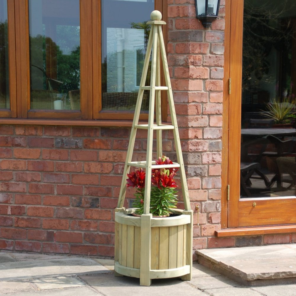 Picture of Rowlinson Marberry Obelisk Planter