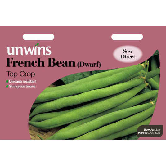 Picture of Unwins FRENCH BEAN Top Crop (Dwarf) Seeds