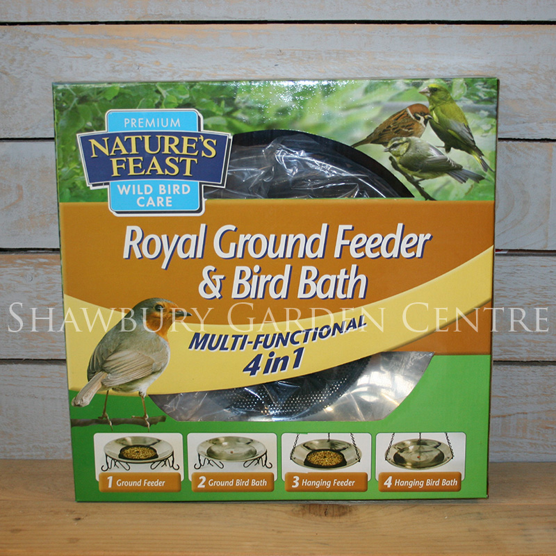 Picture of Nature's Feast Royal Ground Feeder / Bird Bath