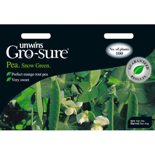 Picture of Unwins Gro-sure® 'Snow Green' Pea Seeds