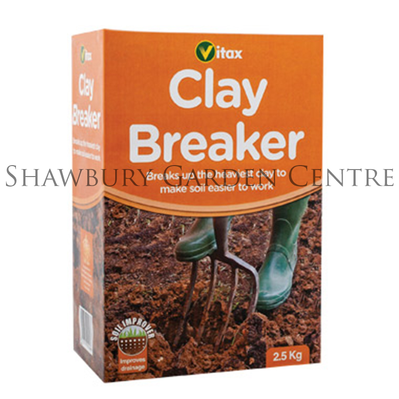 Vitax clay breaker soil improver for Soil improver