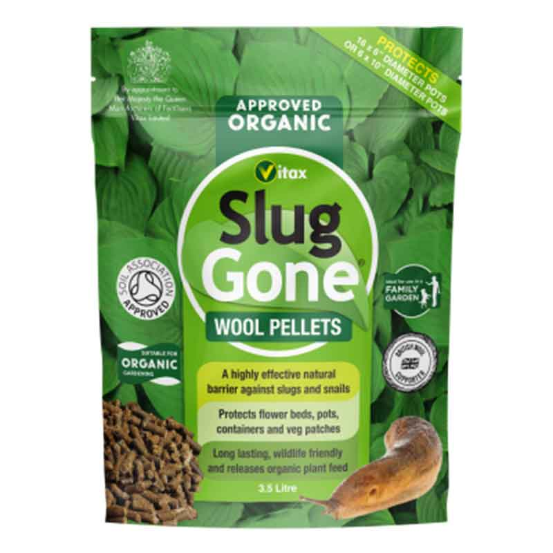 Picture of Vitax Slug Gone® Wool Pellets - Suitable for Organic Gardening