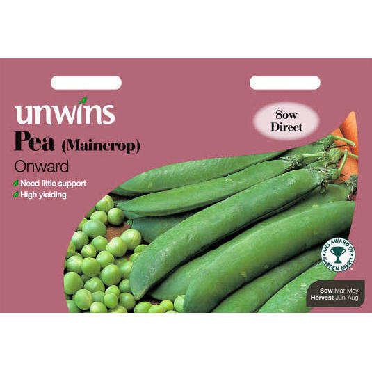 Picture of Unwins 'Onward' Maincrop Pea Seeds