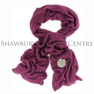 Picture of Powder 'Pippa' Knitted Scarf