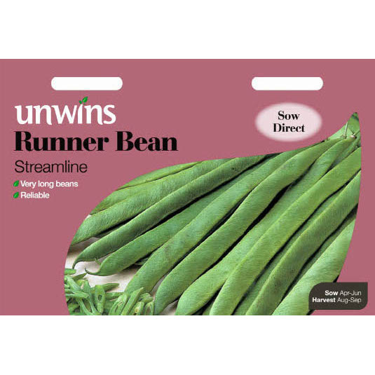 Picture of Unwins RUNNER BEAN Streamline Seeds