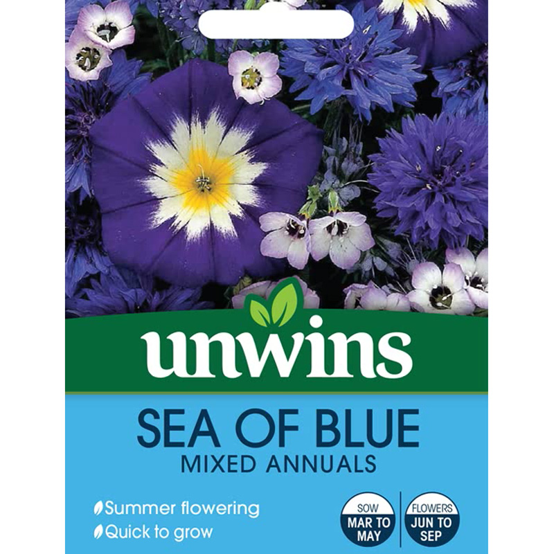 Picture of Unwins 'Sea of Blue' Mixed Annual Seeds