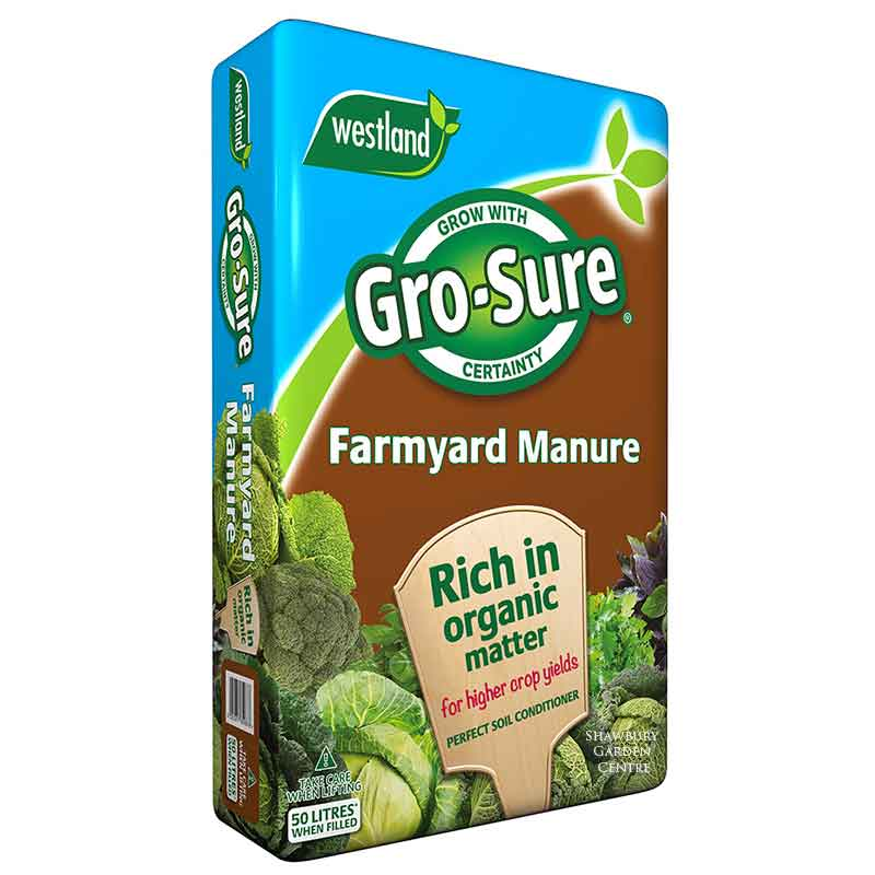 Picture of Westland Gro-Sure Organic Farmyard Manure