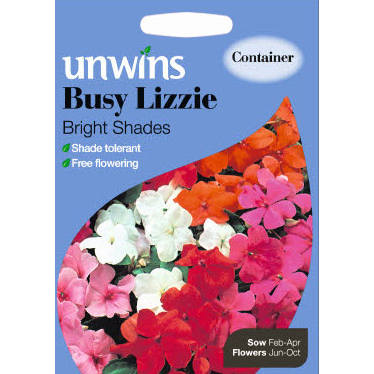Picture of Unwins BUSY LIZZIE Bright Shades Seeds
