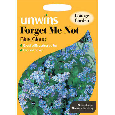 Picture of Unwins 'Blue Cloud' Forget Me Not Seeds