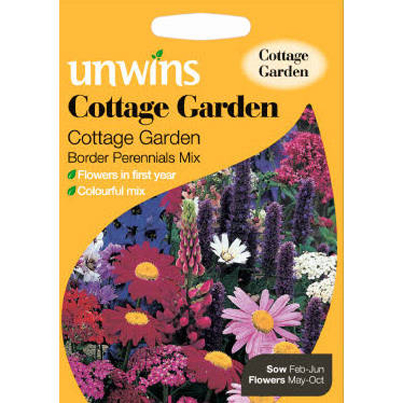 Picture of Unwins Border Perennials Mix 'Cottage Garden' Seeds
